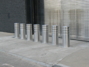 K-Rated Bollards - DoS K12 NMSB VI Stainless Steel Bollard Cover - Vehicle Security Nasatka Security
