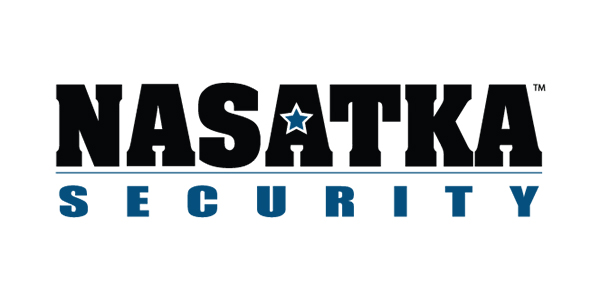 Nasatka Security, Nasatka Barriers, Incorporated Logo