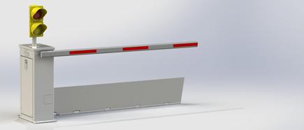 NMSB XI   Single Buttress Bolt-Down Barrier
