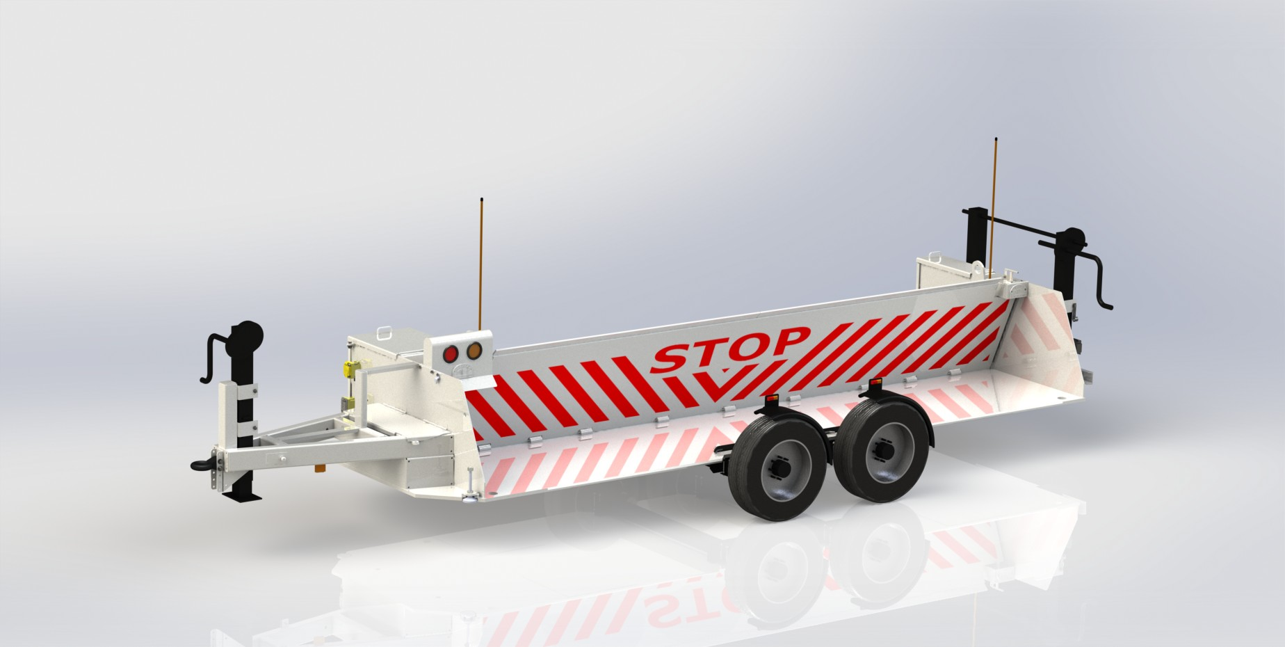 NMSB XV M30 (K4) Mobile and Portable Barrier